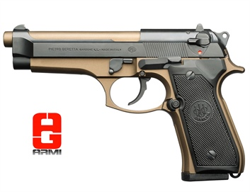 Beretta 92fs Burnt Bronze